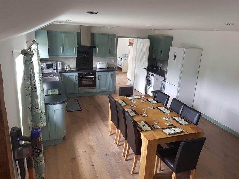 East Croft Barn, Halwill, Beaworthy, Devon, vacation rental in Beaworthy