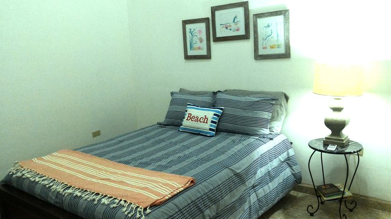 Bedroom 2 full bed and trundle twin bed and AC