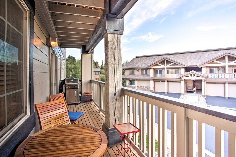 Book your Steamboat Springs getaway to this 2-bed, 2-bath vacation rental condo!