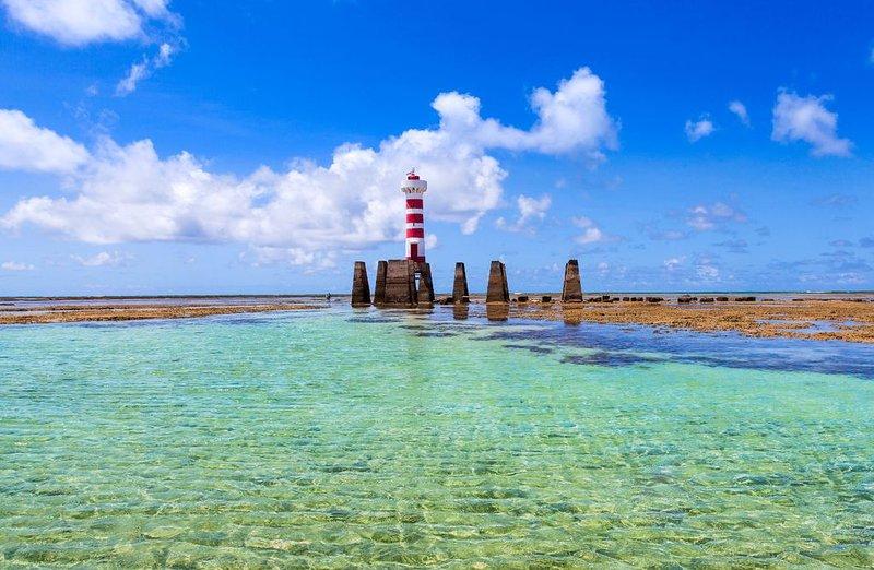 Luxuoso Beira-Mar em Ponta Verde - AP completo e melhor localizado de Maceió!, vacation rental in Maceio
