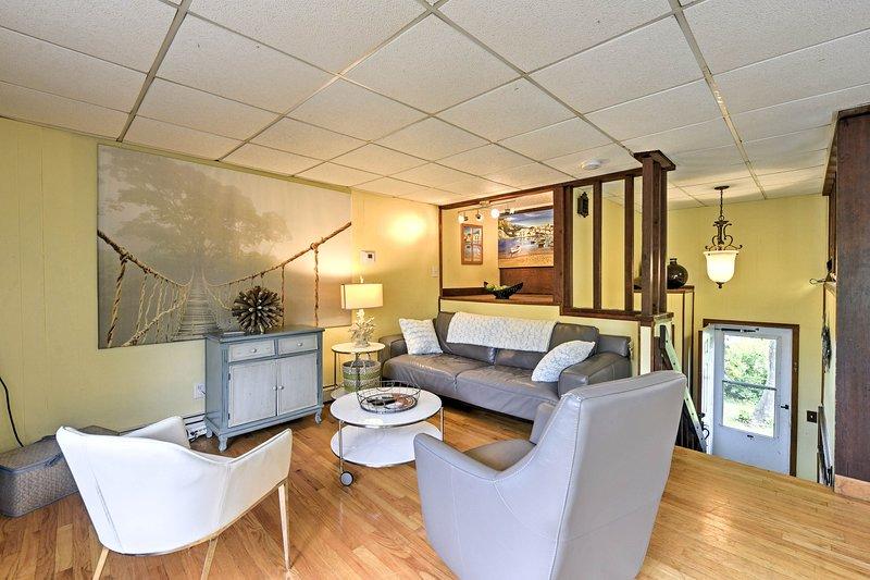 Te sentirás como en casa dentro de este interior recientemente renovado.