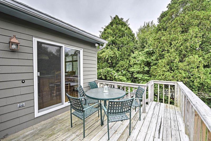 Kick back and relax at this Narragansett vacation rental home!