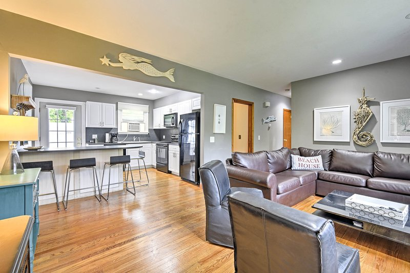 You'll love this spacious open floor plan.