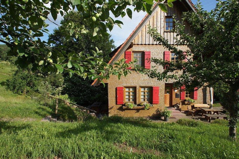 Hof Reichenbachtal Lavendelhaus Erdgeschoss, holiday rental in Baiersbronn