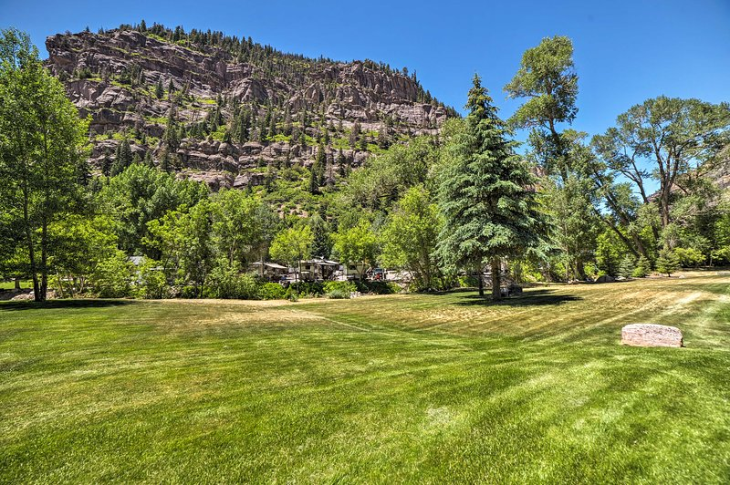 Explore Main Street only 2 blocks from your Ouray home-away-from-home!
