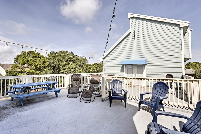 Bring everyone along on a trip to 'Raven Beach House,' a PCB vacation rental!
