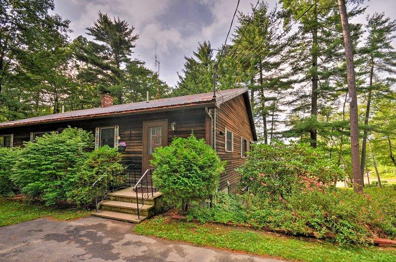 'Paradise on a Lake' awaits at this waterfront Wayne vacation rental home.