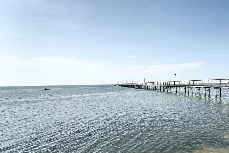 Relax and rejuvenate at this unbeatable Galveston beach home.