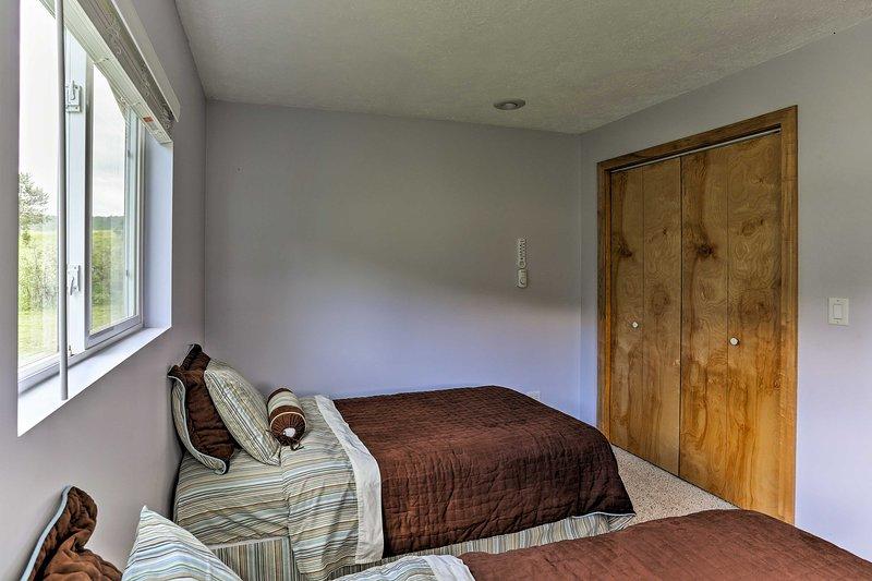 ¡Los sueños son fáciles en esta acogedora habitación!