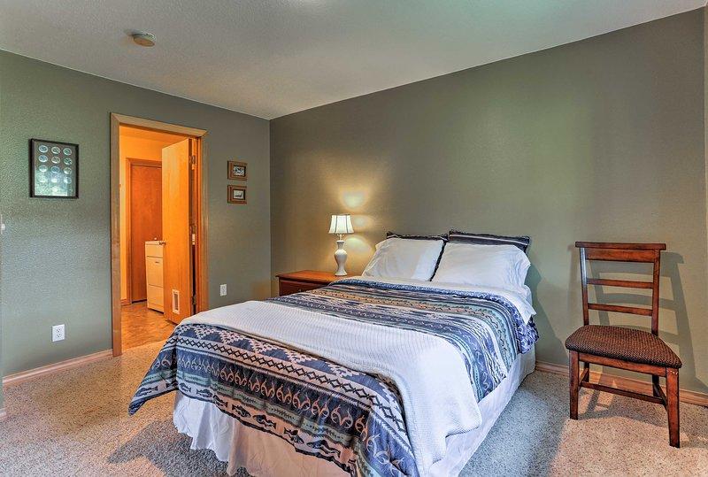Duerma tranquilo debajo de suaves sábanas de lino.