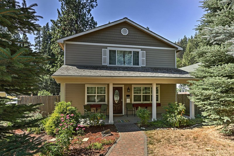 Escape to Idaho and stay in this vacation rental home in Coeur d'Alene!
