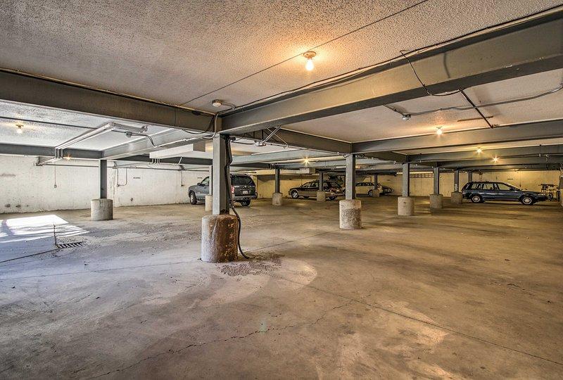 Park 1 véhicule dans le garage!