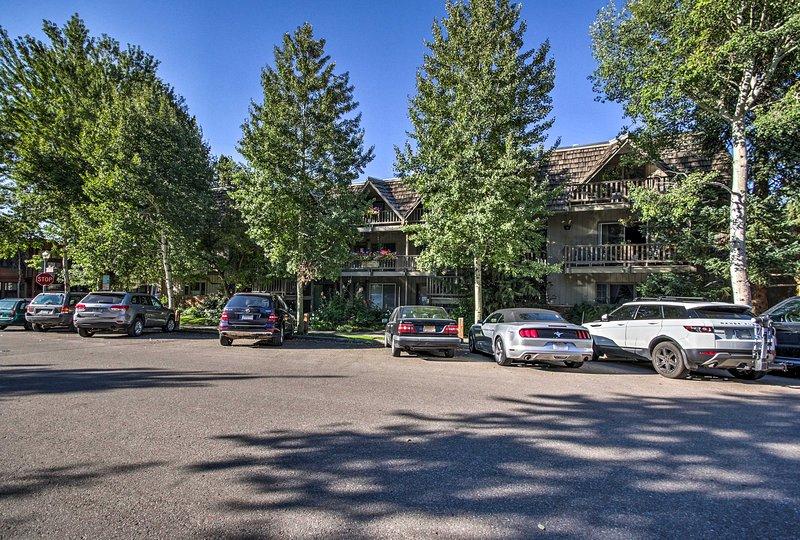 Votre maison Aspen loin de la maison dispose d'un emplacement incroyable.