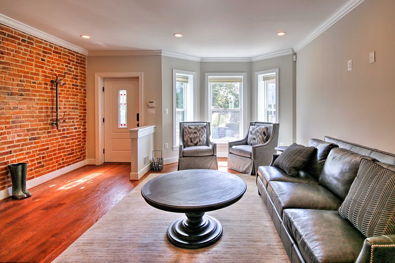 Book your DC adventure to this newly renovated 3-bed, 3.5-bath vacation rental!