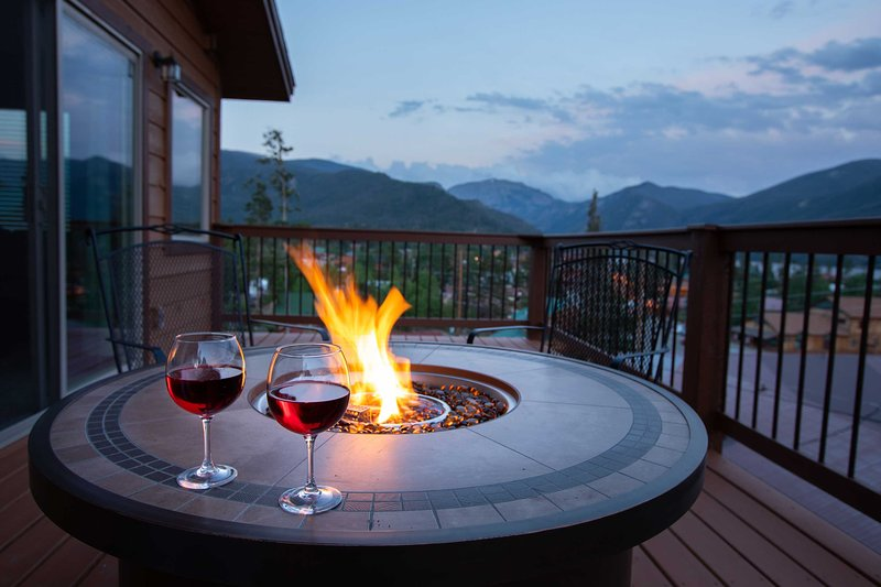 Colorado mountain nights don't get much better than this!