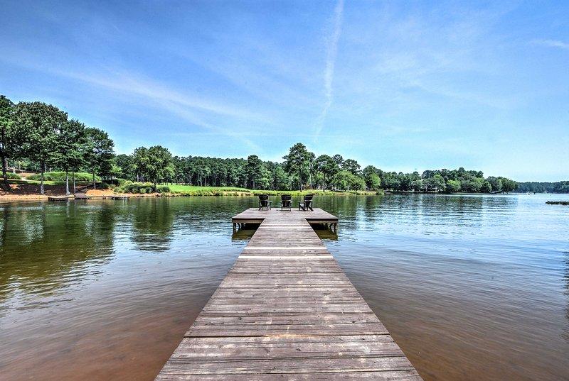 Profitez d'un accès exclusif au lac Oconee!