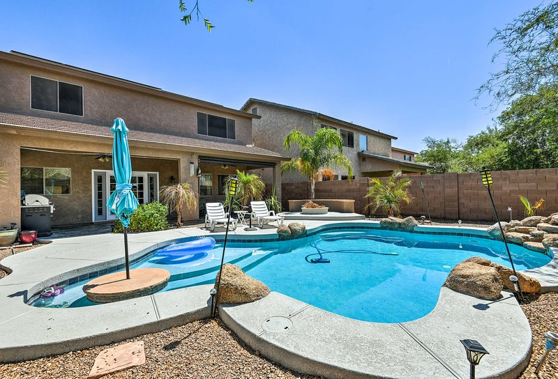 Tauchen Sie bei dieser atemberaubenden Ferienwohnung in Ihren nächsten Urlaub in Arizona ein!