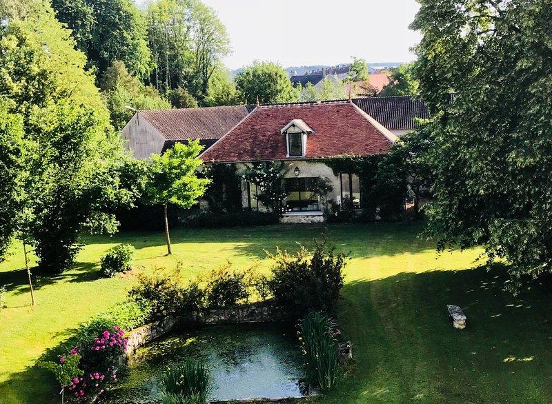 Cottage de charme, location de vacances à Montreuil-aux-Lions