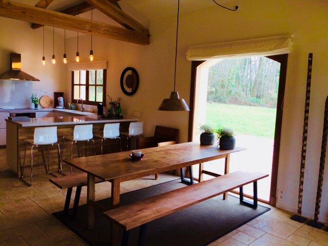 magnifique maison entièrement rénovée dans un endroit paradisiaque, location de vacances à Cassagnes