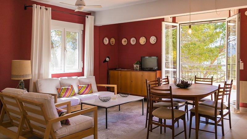 Apartamento rural Los Pinos, aluguéis de temporada em Otos