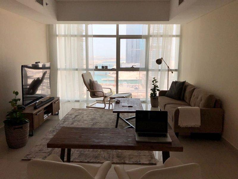 1 BR Apartment Al Reem Island Abu Dhabi, location de vacances à Abou Dhabi