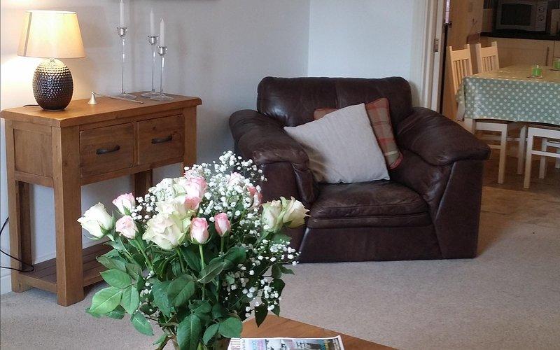 Comfortable and stylish lounge