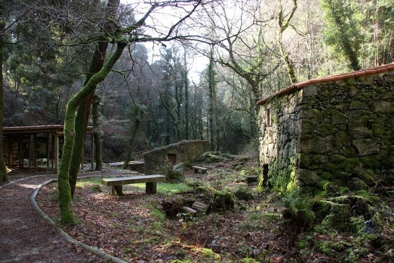 Wandelroute van de molens van de rivier de Fraga (Moaña)