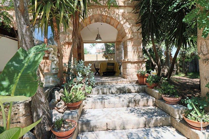 Donna Rita holiday home in Salento in Mancaversa marina, holiday rental in Baia di Gallipoli