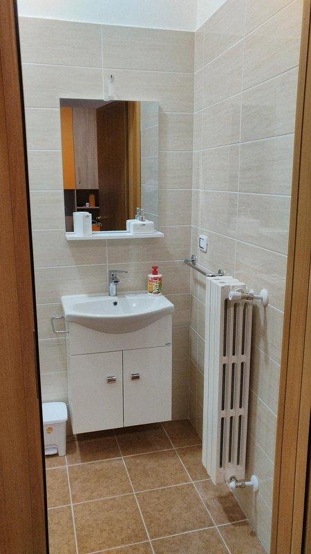 Bathroom. Detail of the sink