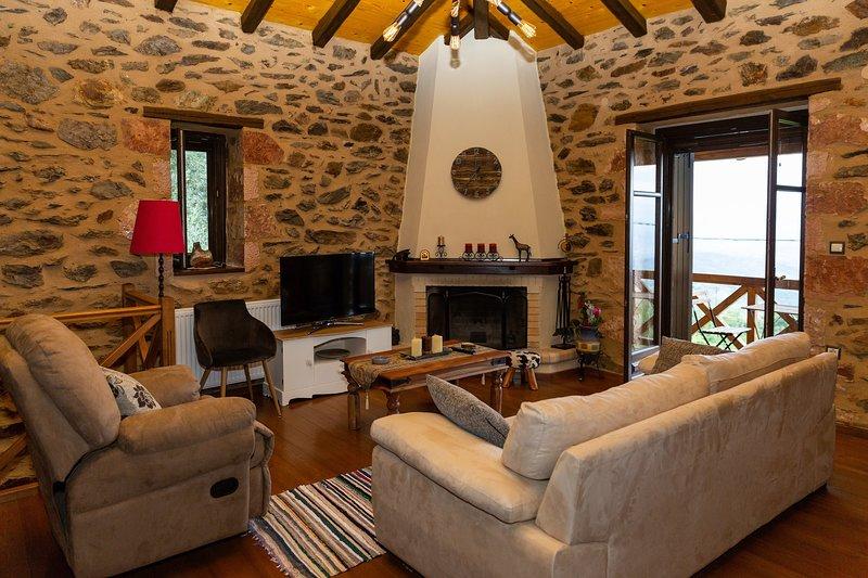Mystras Village House, holiday rental in Artemisia