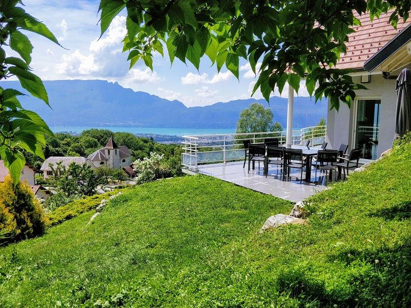 Gite LaurieRaphael, proche AIX LES BAINS plage et montagne, TÉLÉTRAVAIL - Fibre, casa vacanza a Montcel