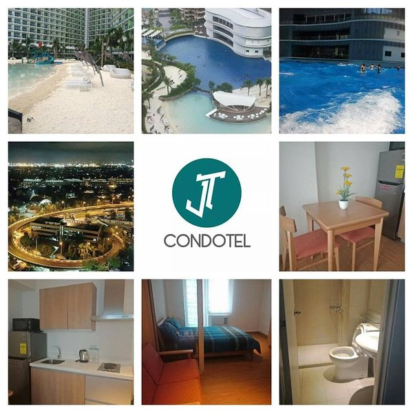 JT CONDOTEL 1 BEDROOM FOR STAYCATION, SHORT TERM AND LONG TERM STAY, location de vacances à Las Pinas