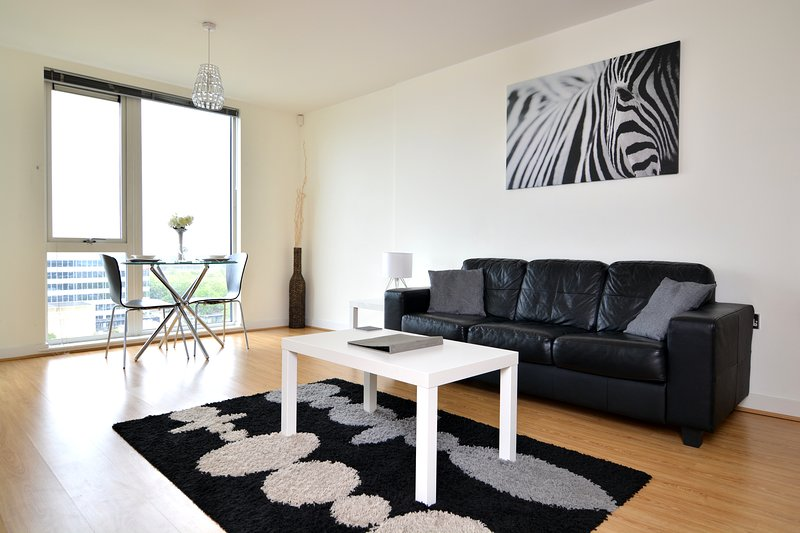 Dakota House - Modern, stylish city centre apartment, holiday rental in Bletchley