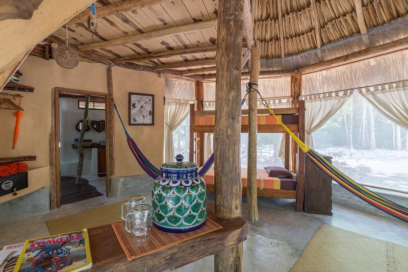 palapa inside view