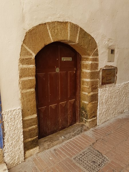 one of many doors to unknown spaces in the medina