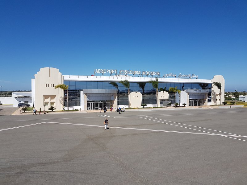 the airport at Mogador