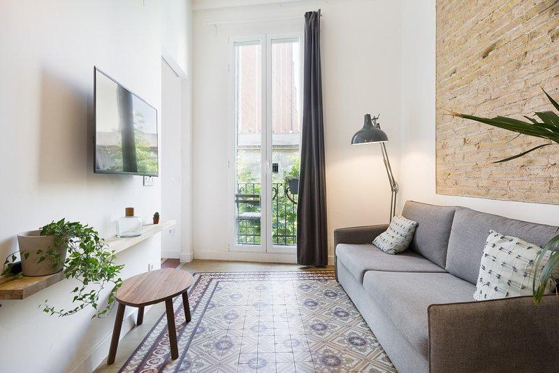 Olala Design Apartment 1.4   10m Pl.España, aluguéis de temporada em L'Hospitalet de Llobregat