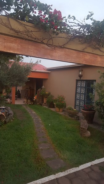 Beautiful and spacious house, surrounded by gardens, 2000 m of tranquility, 15 min. from the city.
