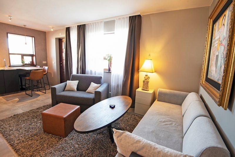 B14 Cozy apartm-quiet with parking, vacation rental in Hafnarfjordur