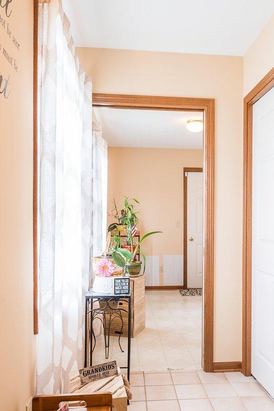 Una porta accogliente