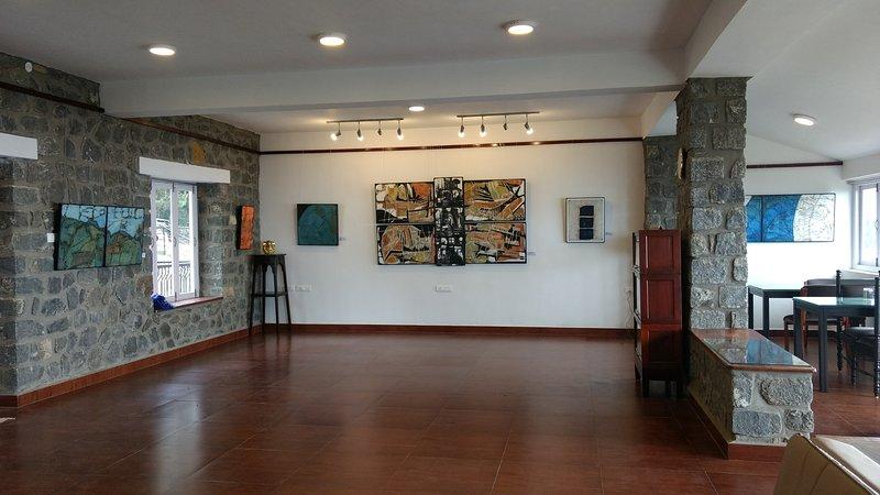 Galerieraum und Speisesaal
