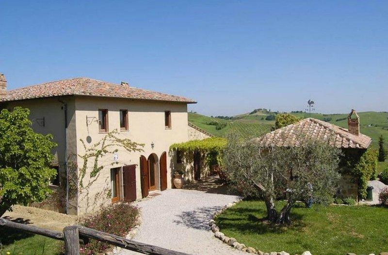 Villa Rosaria, alquiler vacacional en Montefollonico
