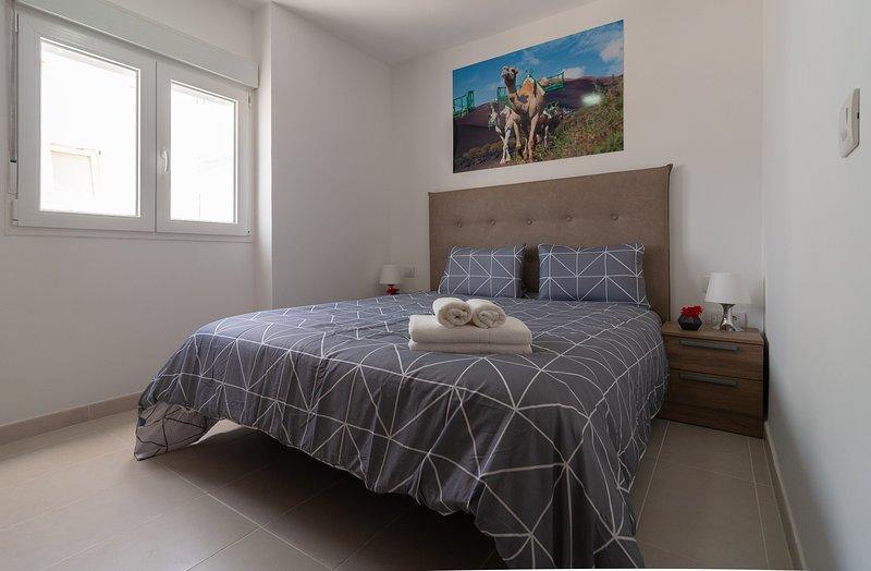 401 Bright and modern apartment in Arrecife, Lanzarote, 6 people, vacation rental in Puerto Naos