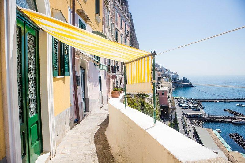 Amalfi ' La Finestra Sul Mare ', vacation rental in Pogerola