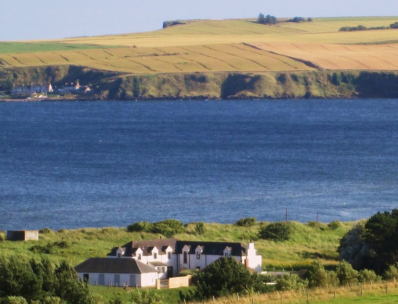 Lunan bay has been the location of fishing communities since time immemorial.