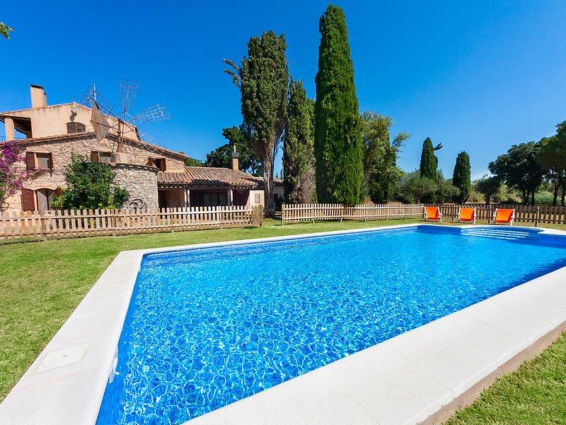 Mas Moli, alquiler de vacaciones en Vall-Llobrega