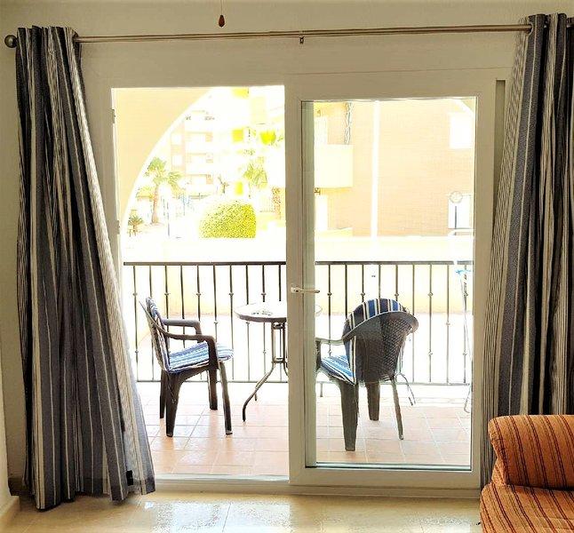 Dubbelglaserade ytterdörrar till balkong