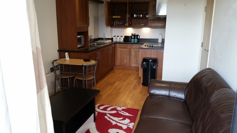 Beautiful and quiet city ctr apartment fully furnished with everything you need, vacation rental in Sheffield