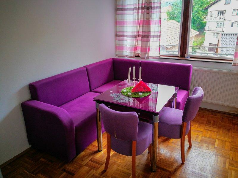 Apartments Aora - Violet EXCELLENT Location & Very Comfortable, holiday rental in Ilijas