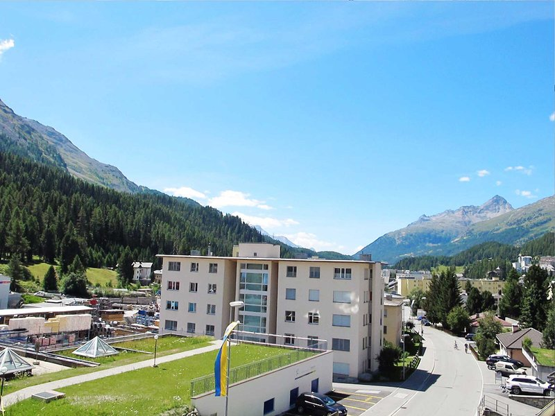 St. Moritz an amazing location and Chesa Anemona an wonderful apartment Chalet in St Moritz